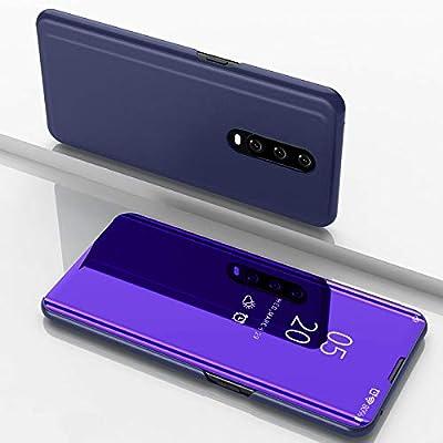 Funda® Espejo Enchapado Flip OPPO RX17 Pro (Púrpura): Amazon.es ...