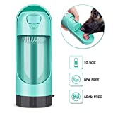 Pet Drinking Water Bottle, Portable Travel Drawer-Style Reversible & Lightweight Water Cup Dispenser for Dogs Cats Small Animals, Leak Proof Antibacterial Food Grade BPA Free Outdoor (Bottle 300ml)
