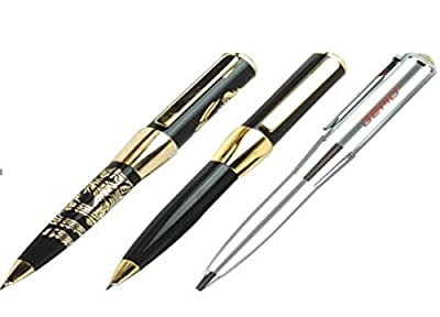 Premium quality executive Ballpoint pen in metallic colors with USB flash drive, packed in fancy silver gift box. The right gifts for executives and loved ones from Genuine Picks