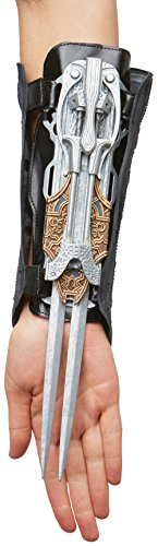 Palamon Women's Assassin's Creed Movie Maria Bladed Gauntlet Costume, Grey, One Size