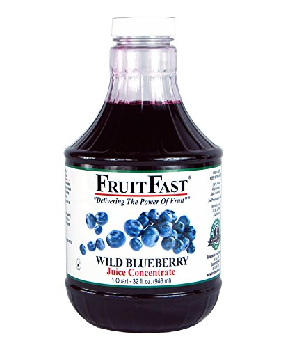 Wild Blueberry Juice Concentrate by FruitFast (32 Ounce) ()