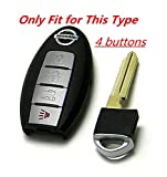 KAWIHEN Silicone 4 buttons Keyless Entry Smart