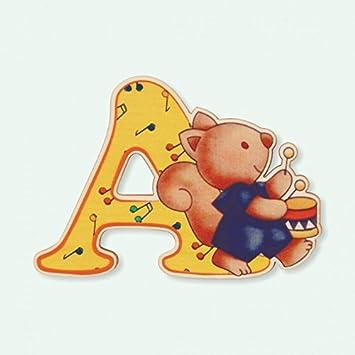 Lettre A Bois Enfant Lettres Alphabet Bois pour Composer Le nom de Votre b/éb/é et d/écorer la Chambre DIDA