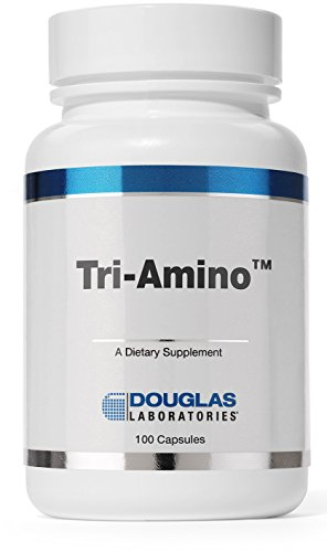 Douglas Laboratories - Tri-Amino - Amino Acid Combination of L-Ornithine, L-Arginine and L-Lysine for Optimal Health - 100 Capsules