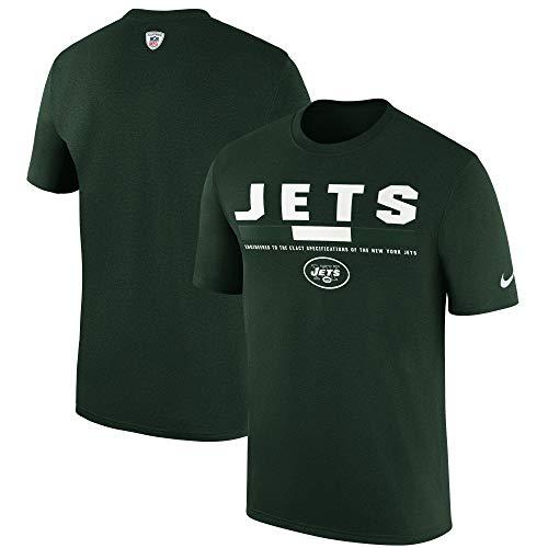 Nike New York Jets Dri-Fit Legend Sideline Staff T-Shirt (Small)