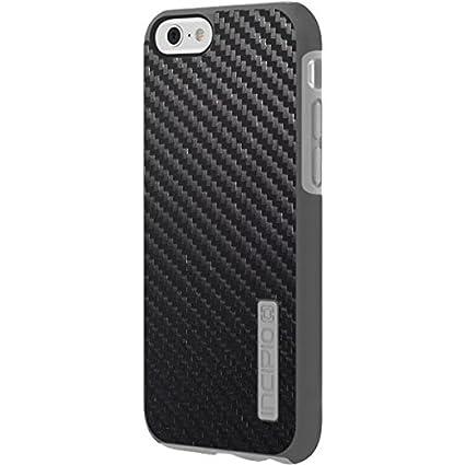 best service e53ee ae1f2 Amazon.com: Textures Incipio DualPro Shine iPhone 6 Skin - Carbon ...