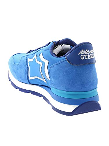 Stars Uomo Camoscio Blu Antardba18c Atlantic Sneakers ZwTUxna