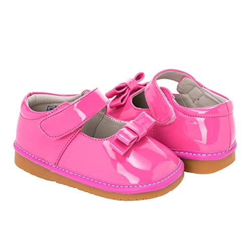 Squeaky Shoes, Girls, with removable squeaker, Wide Head (for Baby/ Toddler) - Baby Girl Squeaker Shoes