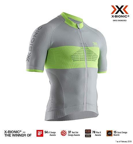 X-Bionic Herren Shirt Invent Bike Race Zip, Short Sleeve