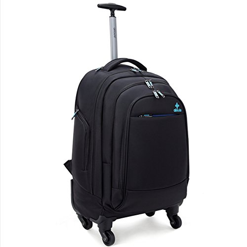 ailouis:Ailouis 4 Wheel Rolling Backpack 20 Inch for Lapt - on ...