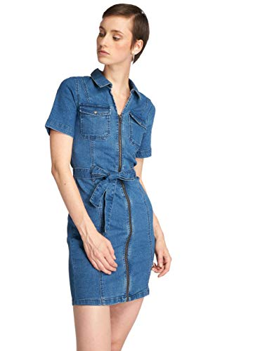 Kleid may nmEbba Blau Damen Noisy vZRxgwR