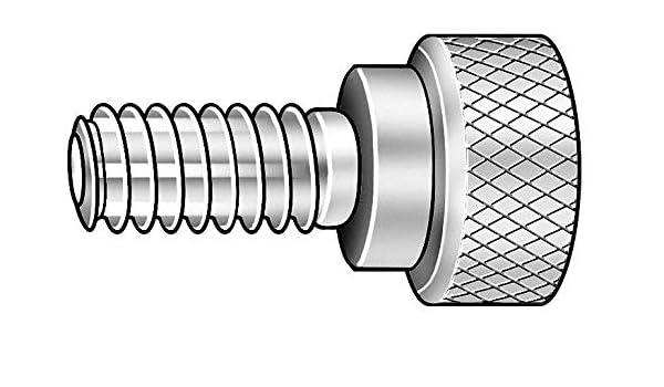 Thumb Screw Knurled 3//8-16x5//8 L Stl Top Brand Z1076 Pack of 2
