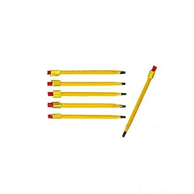 Melody Jane Dollhouse 6 Pencils Miniature Study Office School Desk Accessory 1:12 Scale: Toys & Games [5Bkhe2002373]