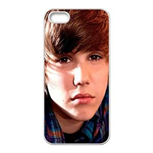 Justin Bieber iPhone 5 5s Cell Phone Case White JU0983998