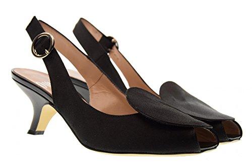 Ovye Mujer Negro 1402 Sandalias Zapatos Av rrnW07qw
