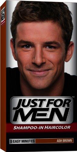 Just for Men shampooing-la couleur des cheveux, Ash Brown 20, 1 application (Pack de 3)