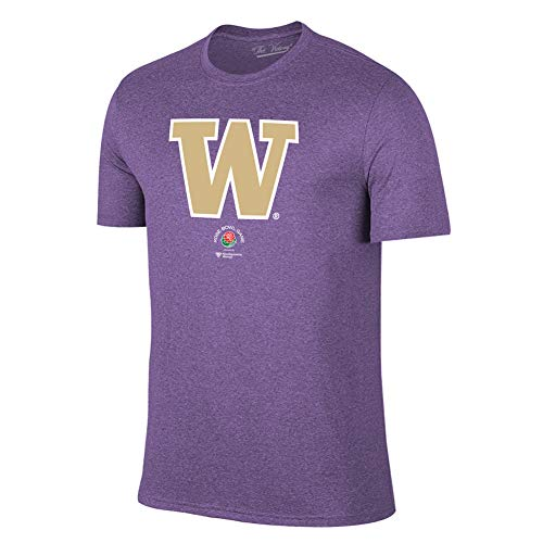 Elite Fan Shop Washington Huskies Rose Bowl Tshirt 2018 Icon Purple - M