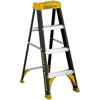 Amazon Com Stanley Sxl3112 04 Fiberglass Step Ladder Type