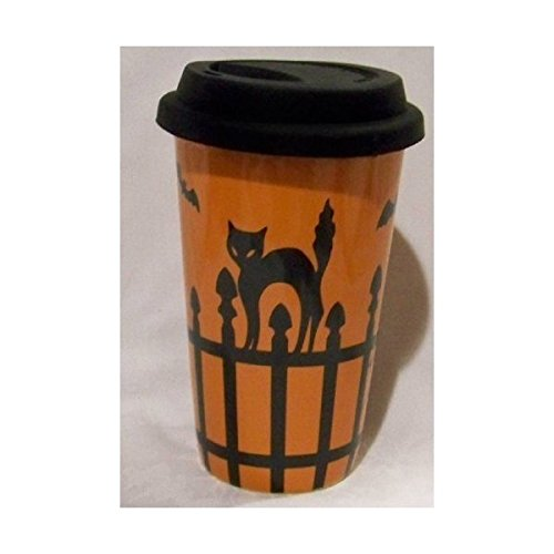 Longaberger Halloween Travel Cup -