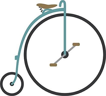 Amazon.com: Pretty Pastel Beach Cruiser Bike Cartoon Vinyl ...