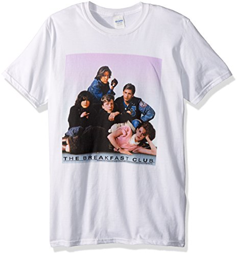 Unisex-Adults Breakfast Club Group Poster T-shirt