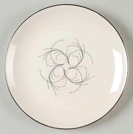 Homer Laughlin Dessert - Mid-Century Vintage - Homer Laughlin - Rhythm Capri Dessert / Pie Plate