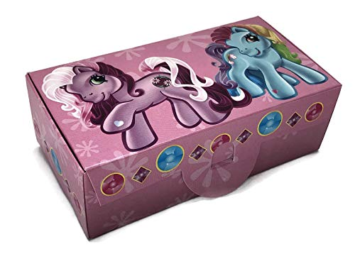 My Little Pony Party Favor Boxes - 12 Guests - My Little Pony Treat Boxes]()