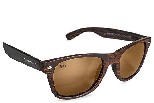 Shady Rays Classic Series Polarized Sunglasses Amber Woods by Shady Rays (Image #1)