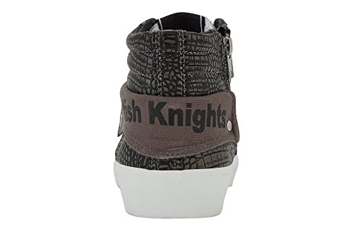 grey 01 Rigit Damen Top Knights grey Grau dk British High z8S5q