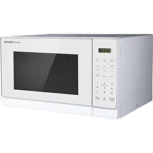 Sharp 0.7-cu ft 700-Watt Countertop (White Carousel)