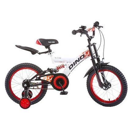 QQB &Carro Plegable Amortiguación de Bicicletas para niños Carrito de bebé de 18 Pulgadas (Color