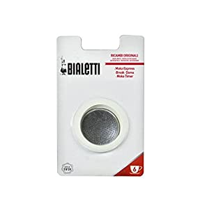 Bialetti Gasket Filter Plate Replacement Parts, Brikka