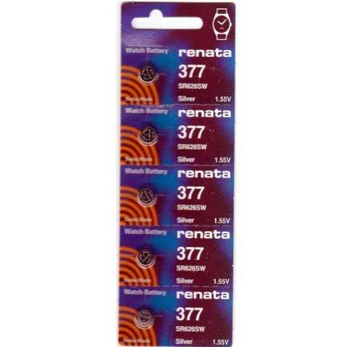 #377 Renata Watch Batteries 10Pcs