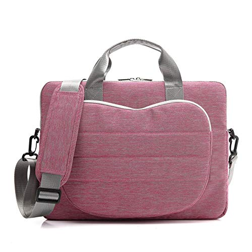 Computer Nylon Moda Anteriore Portatile Tracolla A Borsa Tasca Con Pink RFUqwU5