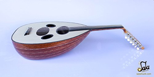 Syrian Professional Electric Oud Ud String Instrument ASOK-301G by SALA