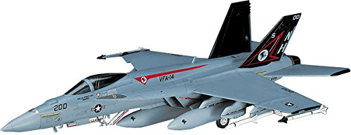 Hasegawa 1/72 F/A-18E Super Hornet (Single Seat) Super Hornet Model Kit