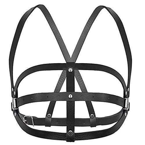 Women's Waist Belts PU Leather Adjustable Body Chest