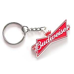 Budweiser Rubber Keychain