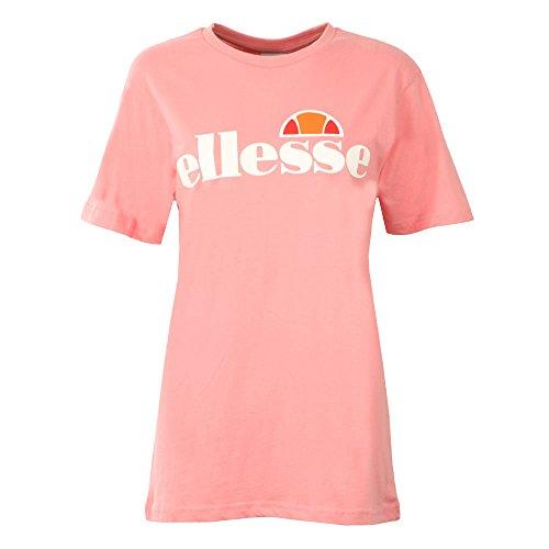 ellesse Women's T-Shirt Albany SGS03237, Color:Soft Pink, Size:14 (L)