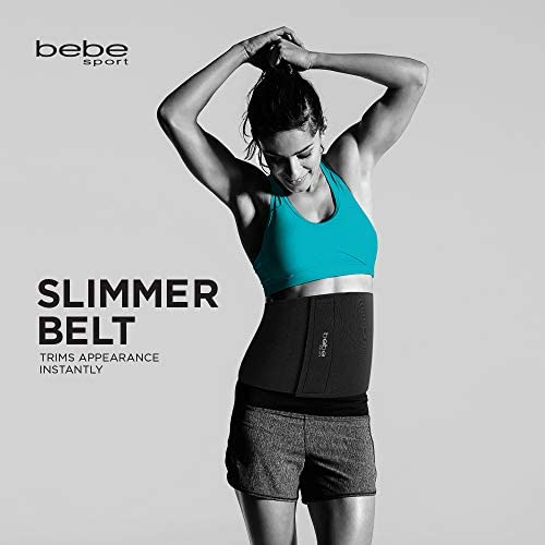 bebe Waist Trimmer, Adjustable Ab Slimmer Belt, Weight Loss, Shed Excess Water Weight and Tone Your Midsection 6