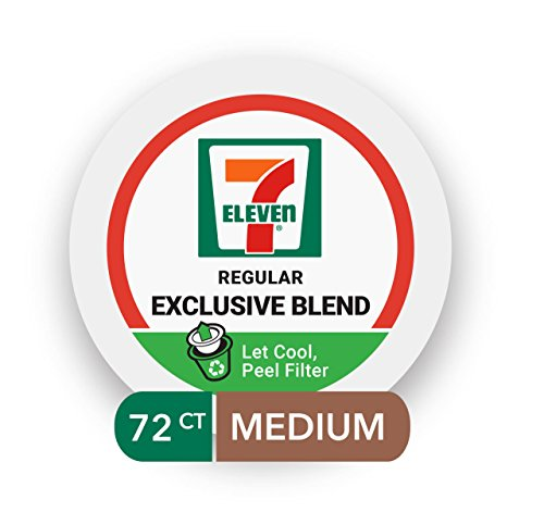 7 Eleven Exclusive Blend Coffee Single Serve Realcup Pods  72 Count  6 Boxes Of 12 Pods