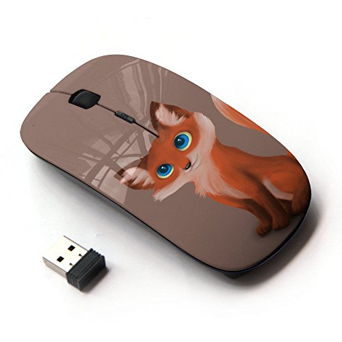 KOOLmouse [ Optical 2.4G Wireless Mouse ] [ Cute Fox Cub ] by KOOLmouse