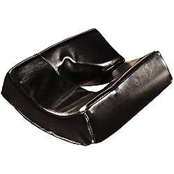 Master Massage Massage Patented Memory Foam Ergonomicdream Face Cushion Pillow Headrest, Black