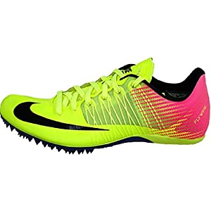 Nike Men's Zoom Celar 5 OC Track & Field Sprint Spikes 882023-999 (Size 13) Volt/Pink/Black …