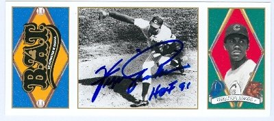 Jenkins Baseball Autographed Chicago Cubs (Autograph Warehouse 86666 Ferguson Jenkins Autographed Baseball Card Chicago Cubs 1993 Upper Deck All Time Heroes No .74 Inscribed Hof 91)