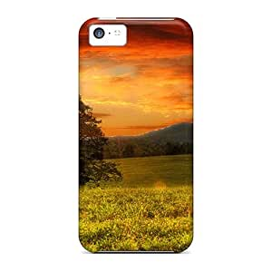 Fashion Protective Down To Earth Case Cover For Iphone 5c