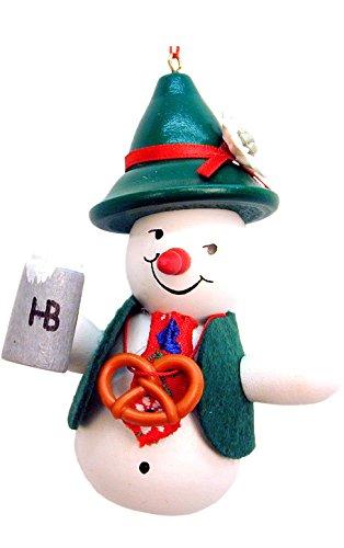 (Alexander Taron Importer 10-0122 Christian Ulbricht Ornament - Snowman Beerdrinker - 4