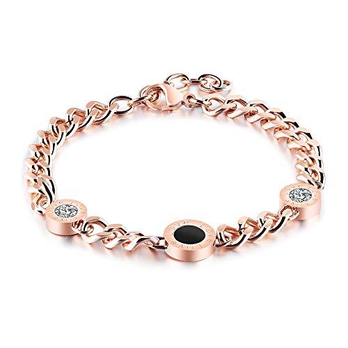 Bvlgari Inspired Ring - Alebra Designer (Bvlgari Inspired) Diamond Love Bracelet (Gold)