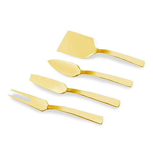cheese knives gold - 1