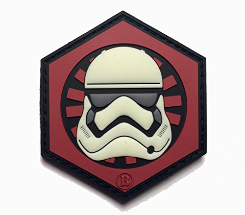 25-x-25-3d-pvc-first-order-gitd-glow-in-the-dark-stormtrooper-helmet-morale-velcro-patch